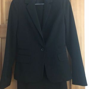 Black Women's Skirt Suit